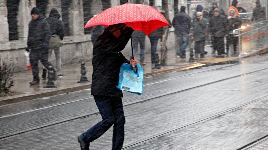 Meteoroloji'den son dakika sağanak yağış uyarısı! Günlerce sürecek…