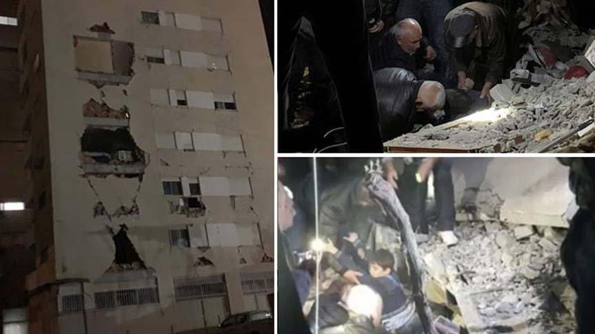Arnavutluk depreminde ölü sayısı 20'ye yükseldi