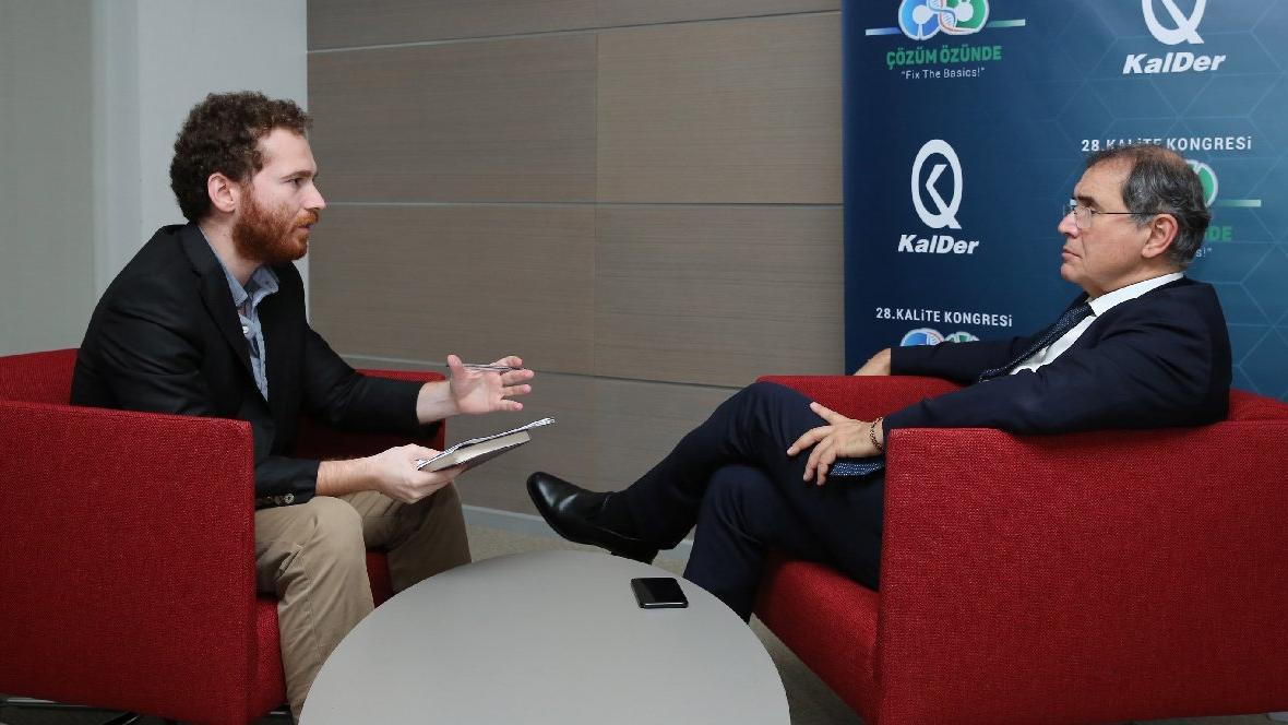 Dünyaca ünlü ekonomist Nouriel Roubini sozcu.com.tr'ye konuştu