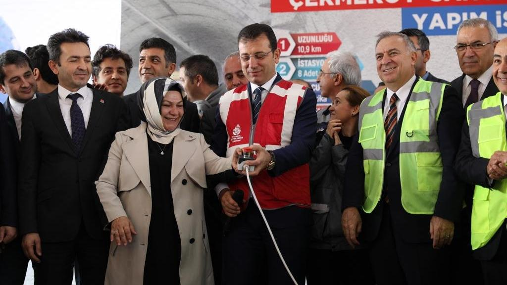 2 yıl önce durdurulmuştu: İstanbul'da metro hattı inşaatı yeniden başladı