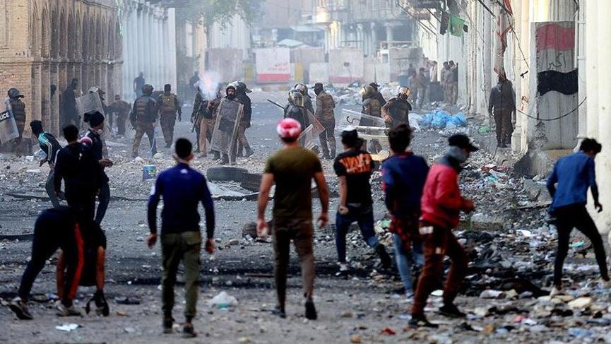 Irak'ta İran Konsolosluğuna saldırı! 80 yaralı