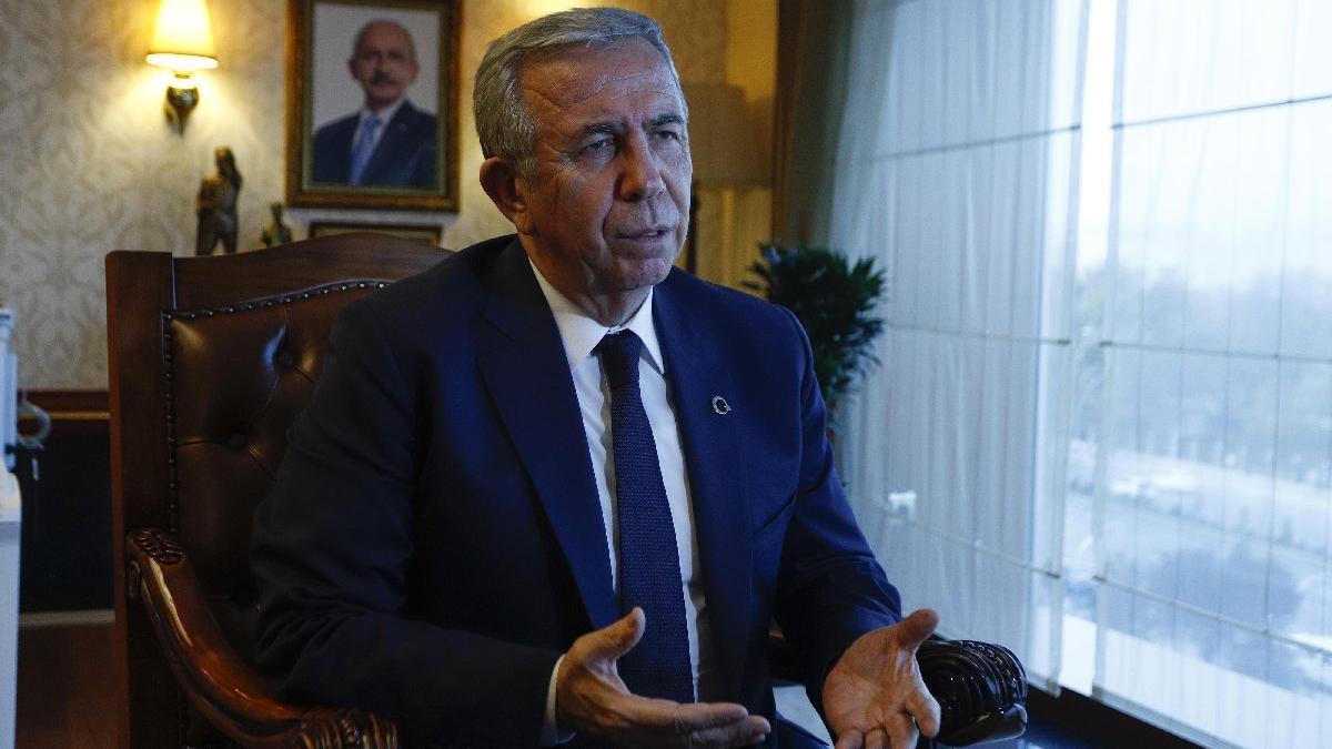 Mansur Yavaş: Muhalefet alınganlık gösterdi!