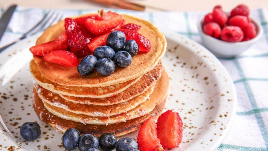 Pancake yapımı… Pancake nasıl yapılır?