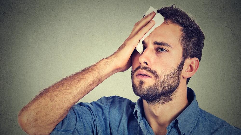 Yüz terlemesi nasıl tedavi edilir?