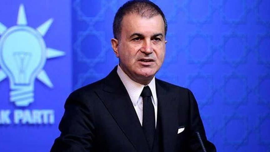 AKP Sözcüsü Çelik'ten Macron'a sert tepki!