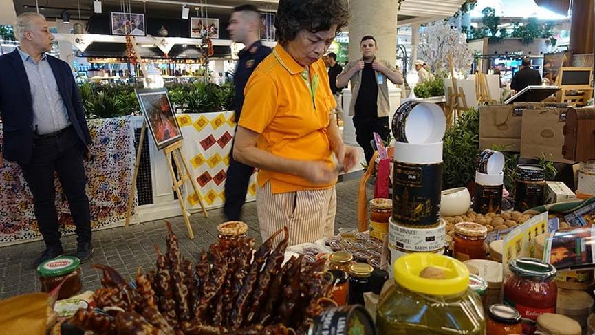 Tokat yemekleri İstanbul Havalimanı'nda tanıtıldı