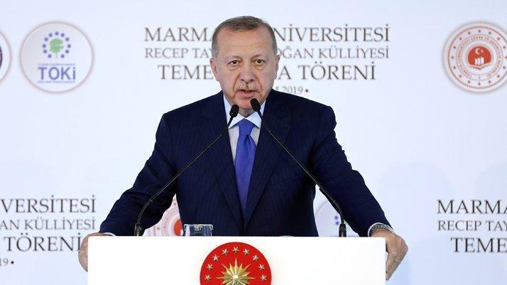 Erdoğan'dan Macron'a sert tepki: Sen önce kendi beyin ölümünü kontrol ettir