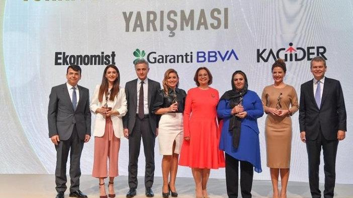 Kadın girişimciler ödüllendirildi
