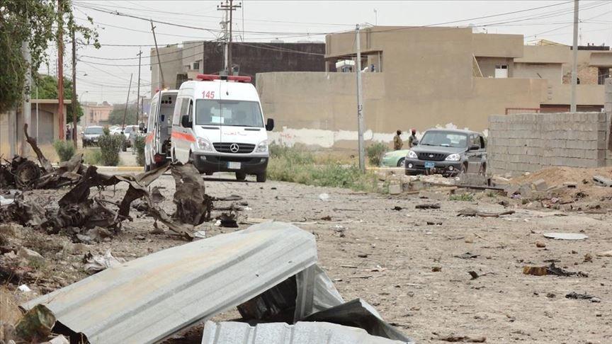 Son dakika... Irak'ta eş zamanlı üç patlama!