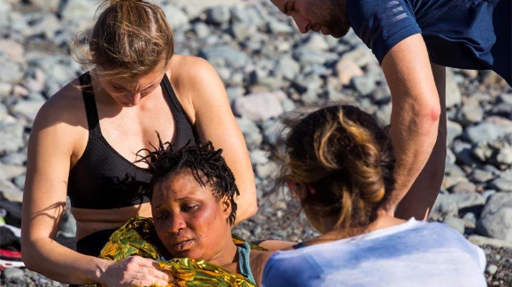 Kanarya Adaları'nda can pazarı! Sahildekiler yardıma koştu
