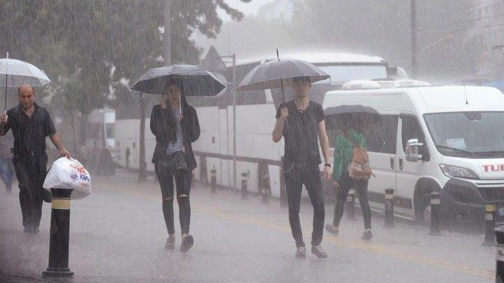 Meteoroloji'den birçok il için yağmur ve kar uyarısı! İstanbul da listede…