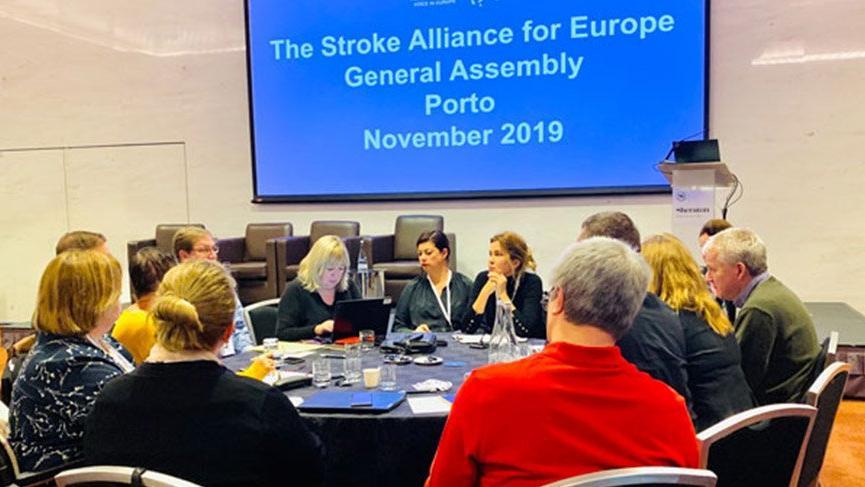 Beyinder, Avrupa İnme Topluluğu Yönetim Kurulu'na girdi