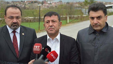 CHP'liler, Demirtaş'ı cezaevinde ziyaret etti