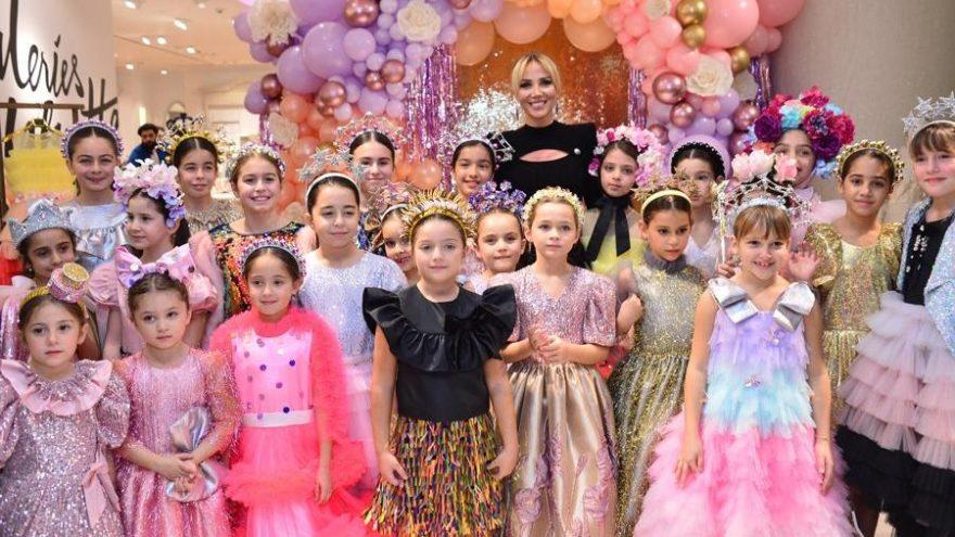 Melis Kaptanoğlu yeni çocuk koleksiyonunu tanıttı
