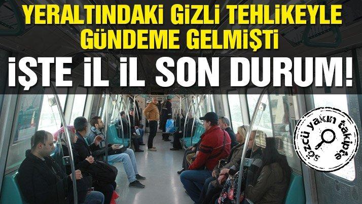 Türkiye'deki metro projeleri ne alemde?