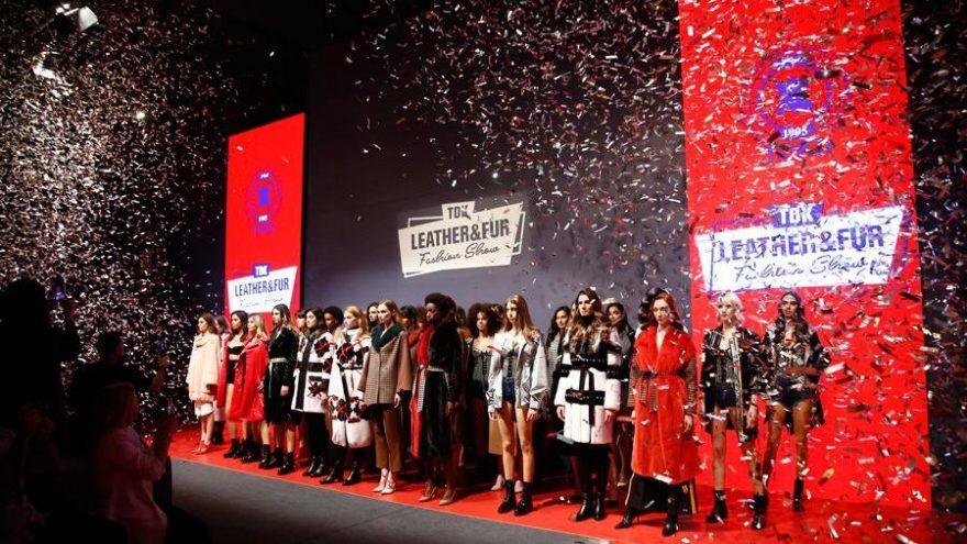 TDKD Leather & Fur Fashion Show'da tescilli güzeller podyuma çıktı