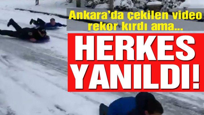 Son dakika... Sosyal medyada Ankara diye paylaşıldı ama gerçek hiç öyle değilmiş