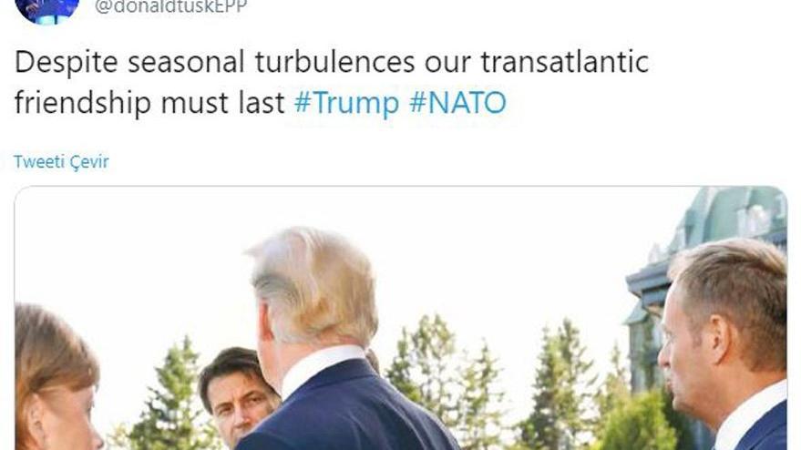 NATO Zirvesi sonrasında olay yaratan paylaşım: Trump'a silah doğrulttu