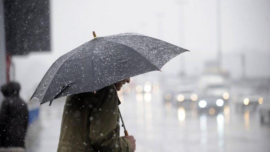 Meteoroloji uyardı! Soğuk, yağmur, buz…