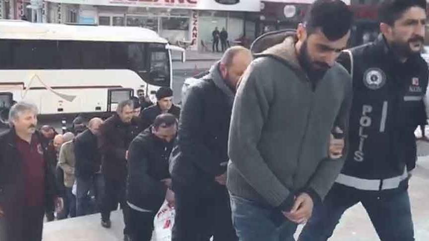 Tekirdağ'da SGK'yı zarara uğratanlara operasyon: 31 kişi tutuklandı
