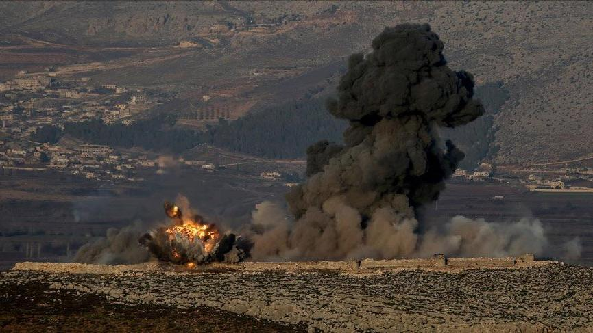 Afrin'e hava saldırısı: 3 ölü