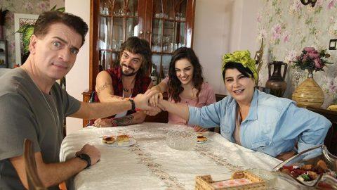 Baba Parası filminde Ahmet Kural, Kıbrıslı Selim rolünde...