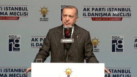 Erdoğan'dan 'Şehir Üniversitesi' açıklaması: Halkbank'ı dolandırmaya çalışıyorlar