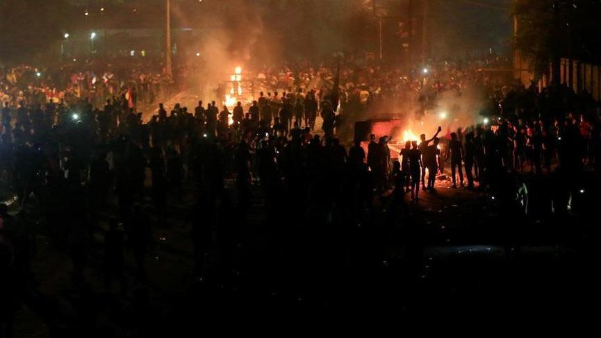 Irak'ta öldürülen göstericileri çete ve örgütler öldürmüş!