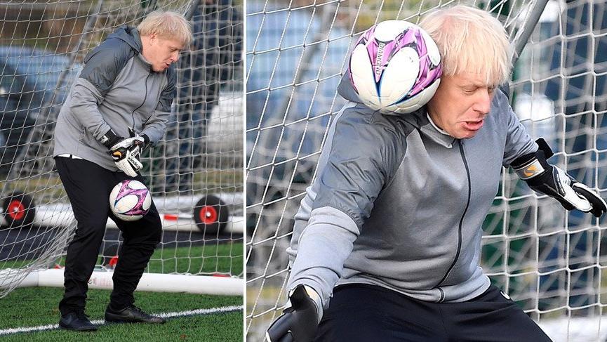 Johnson'ın bu görüntüleri İngiltere'nin gündemine oturdu!