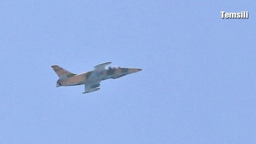 Libya'da Hafter'e bağlı savaş uçağı düşürüldü! Pilot esir alındı