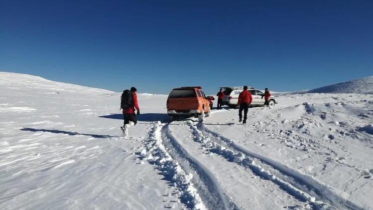 Uludağ'da kaybolan dağcıları arama çalışması sürüyor!