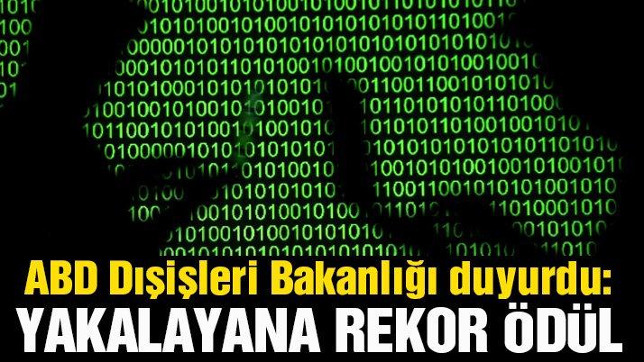 ABD duyurdu... Siber korsanın başına en büyük ödül kondu