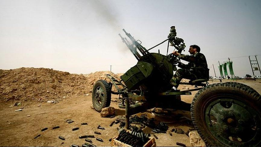 Doğu Akdeniz'de anlaştığımız Libya'da General Hafter güçleri Trablus'a yaklaştı