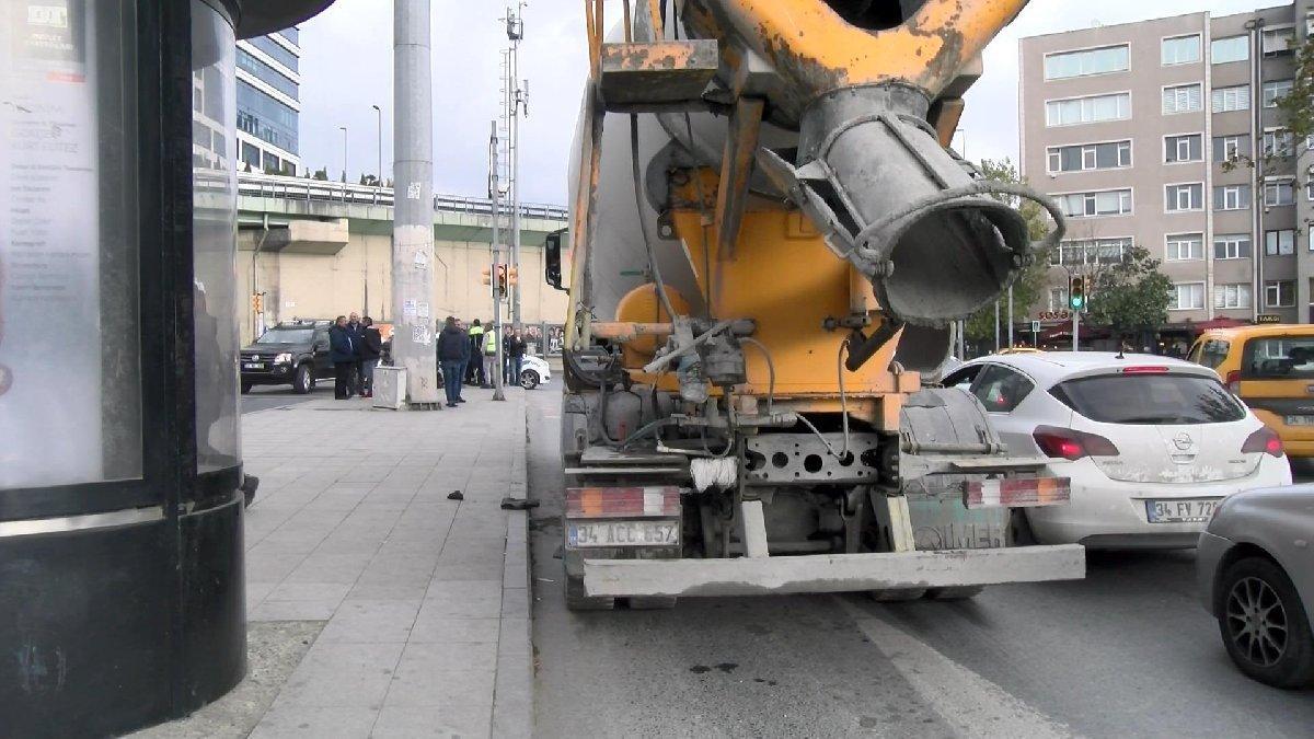 İstanbul'da beton mikseri dehşeti: Bir ölü, bir ağır yaralı