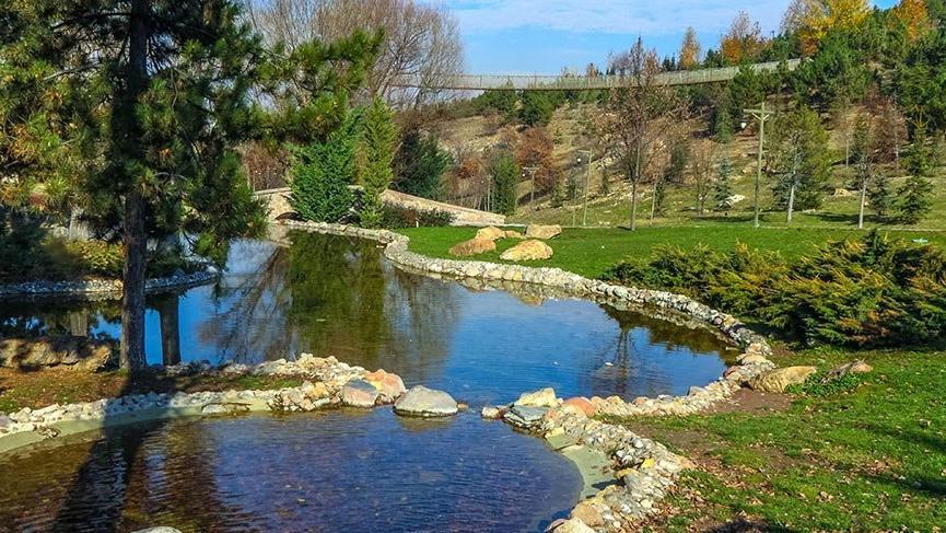 Ankara'nın göbeğinde masalsı bir Anadolu köyü
