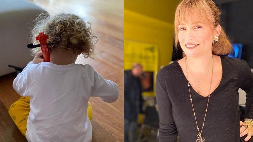 Ceyda Düvenci'den 'Sanatçı annenin oğlu' dedirten paylaşım