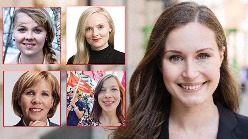 Hepsi genç ve dinamik hepsi kadın... Finlandiya'da hükümet onlara emanet
