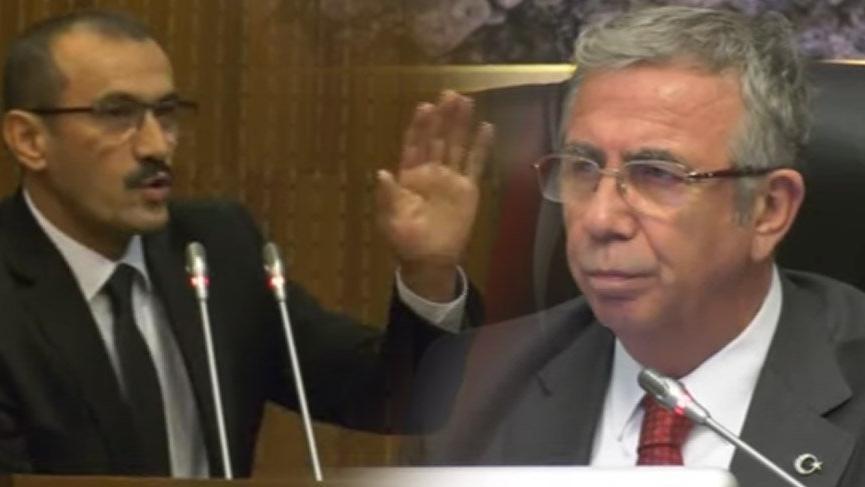 AKP'li Meclis üyesinin Mansur Yavaş'a 'artist' sözü ortalığı karıştırdı