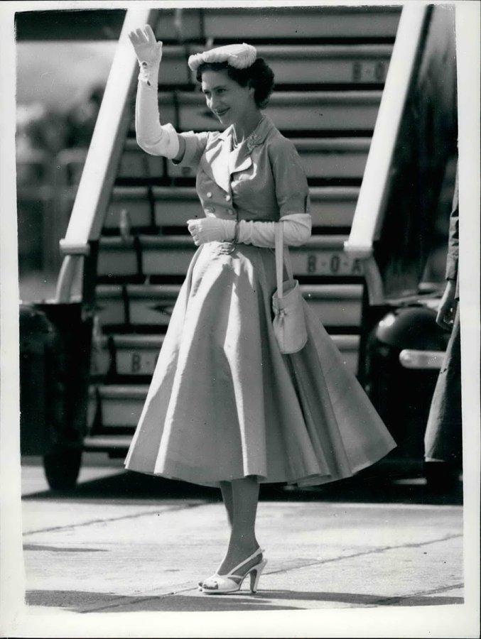 Prenses Margaret, Uçak