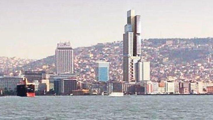 İzmir 250 metrelik gökdeleni tartışıyor