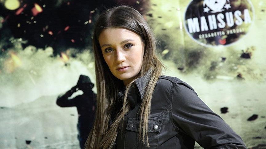 'Mahsusa' filmi oyuncuları silah kullanma eğitimi aldı