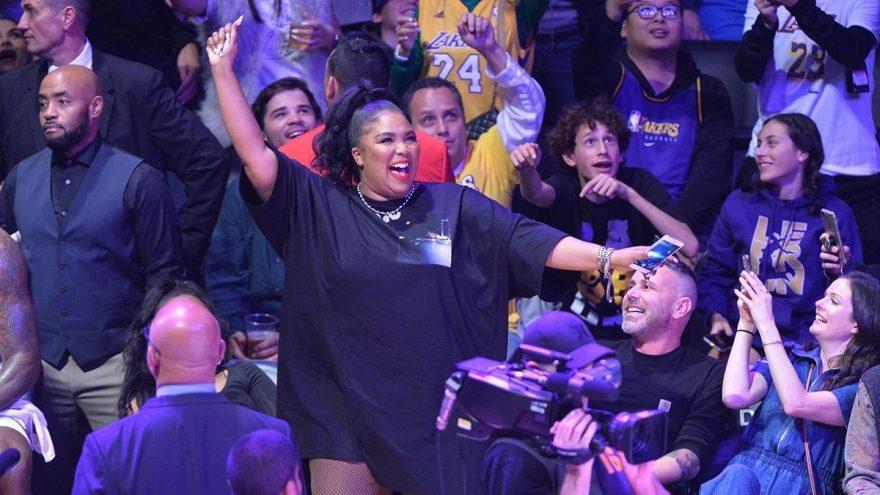 Los Angeles Lakers maçına Lizzo damgası
