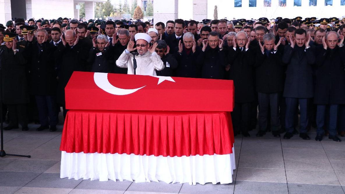 Şehit Yıldırım, Ankara'da son yolculuğuna uğurlandı