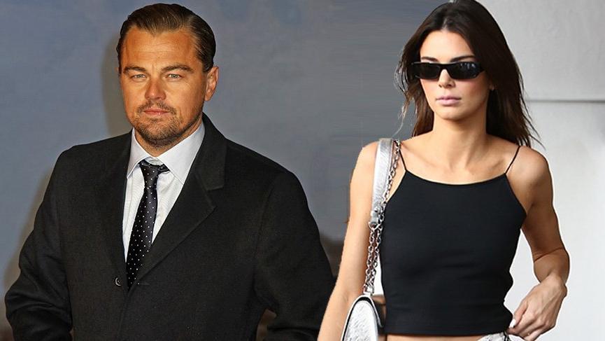 Leonardo DiCaprio ve Kendall Jenner sabaha kadar flört etti