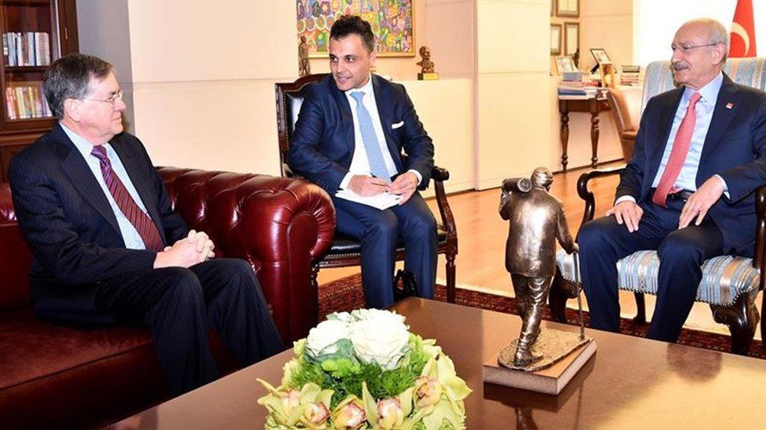 Kılıçdaroğlu, Satterfield görüşmesiyle ilgili CHP'den açıklama!