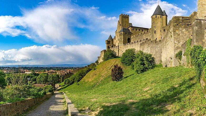 Yılda üç milyon ziyaretçi ağırlayan Ortaçağ kenti Carcassonne