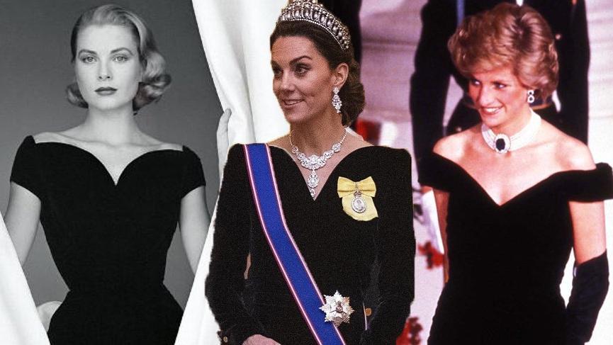 Kate Middleton'ın şıklığı akıllara Grace Kelly ve Lady Diana'yı getirdi