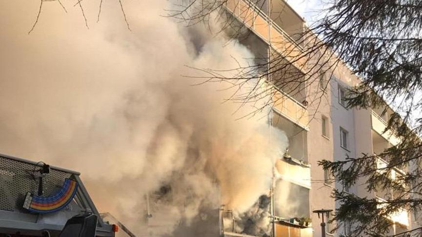 Almanya'da patlama... Ölü ve yaralılar var