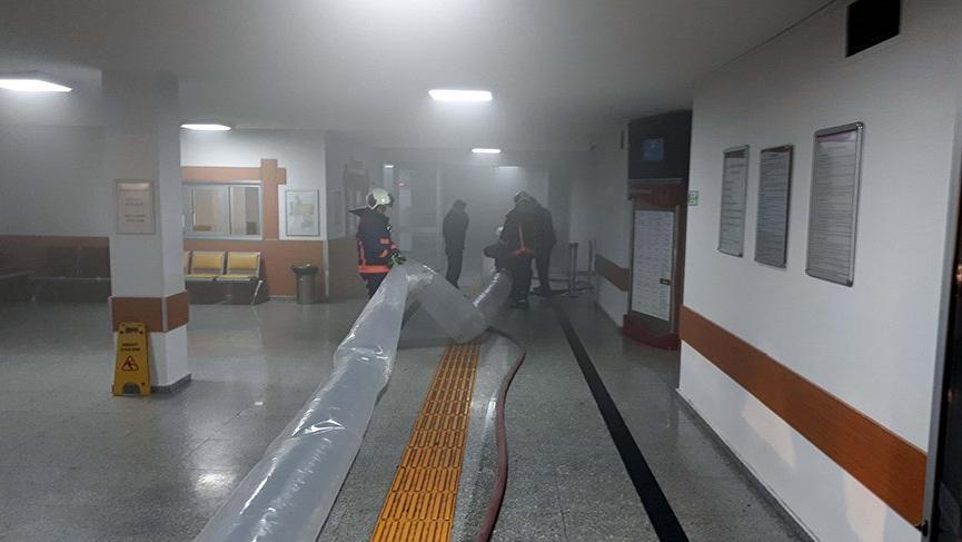 Ankara'da hastane yangını!