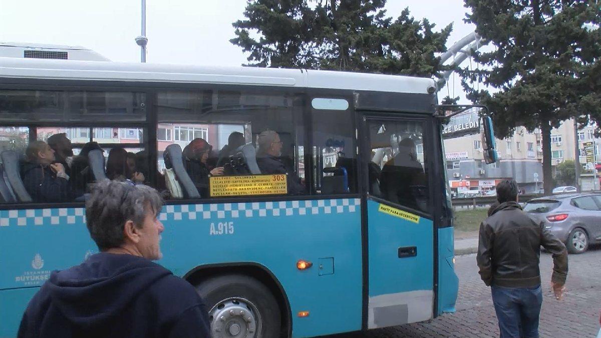 İstanbul'da otobüste taciz iddiası ortalığı karıştırdı